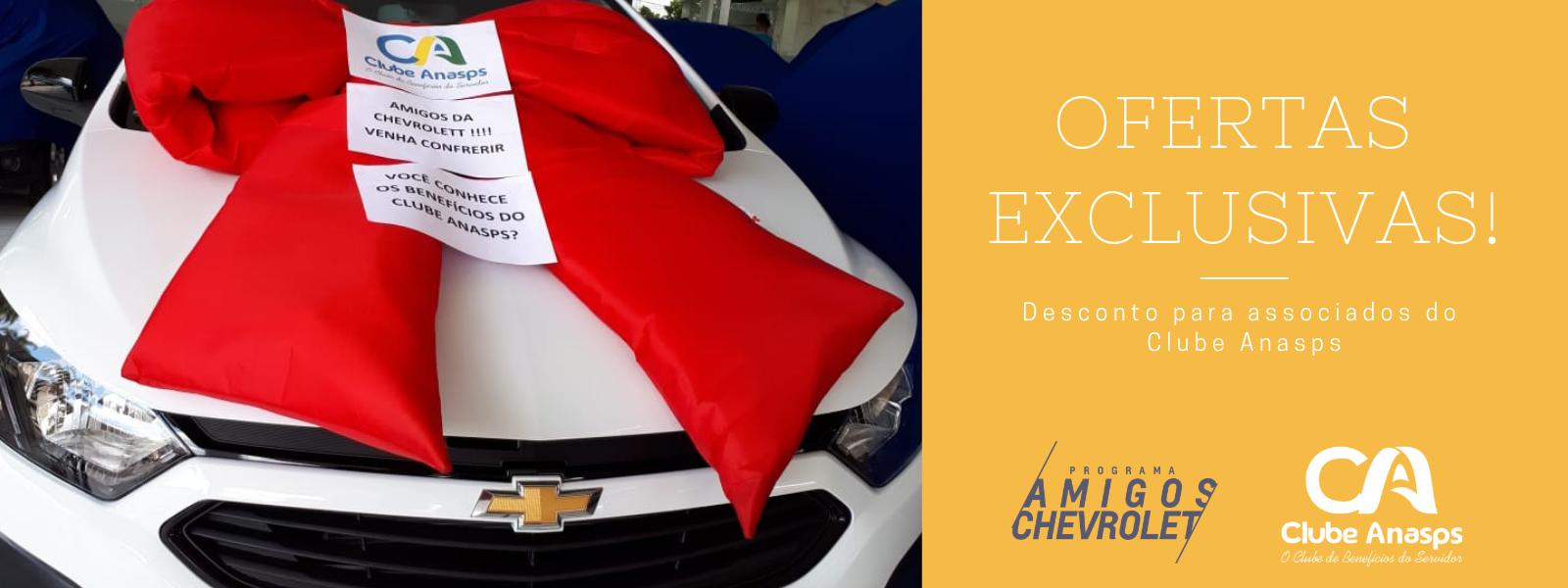 Descontos exclusivos no Amigos Chevrolet