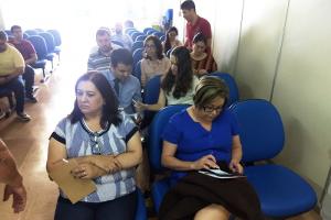 Anasps se reúne com servidores na Gerência Executivo do INSS em Taubaté (SP)-1