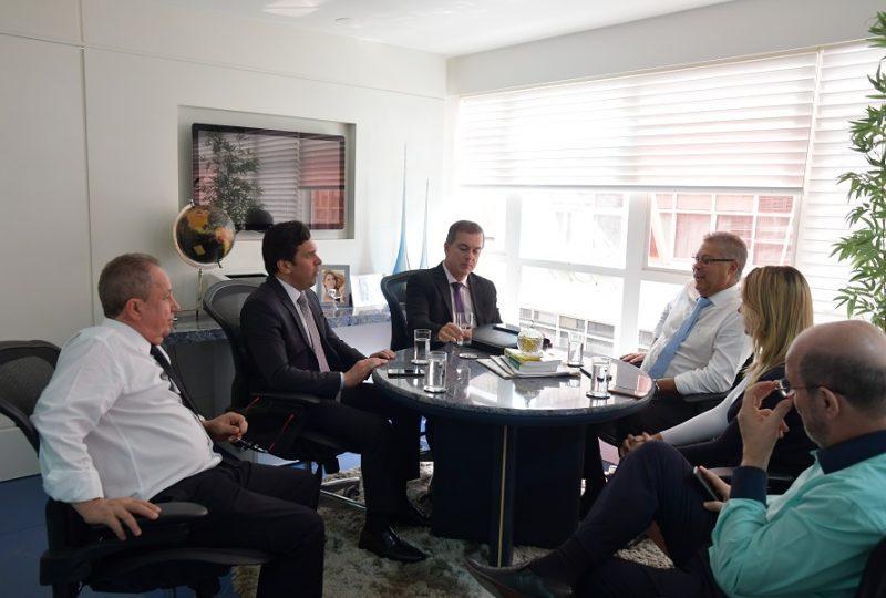 Dep. Isnaldo Bulhões realiza visita de cortesia à Anasps-1